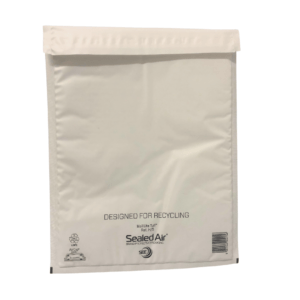 White bubble lined mailer bags